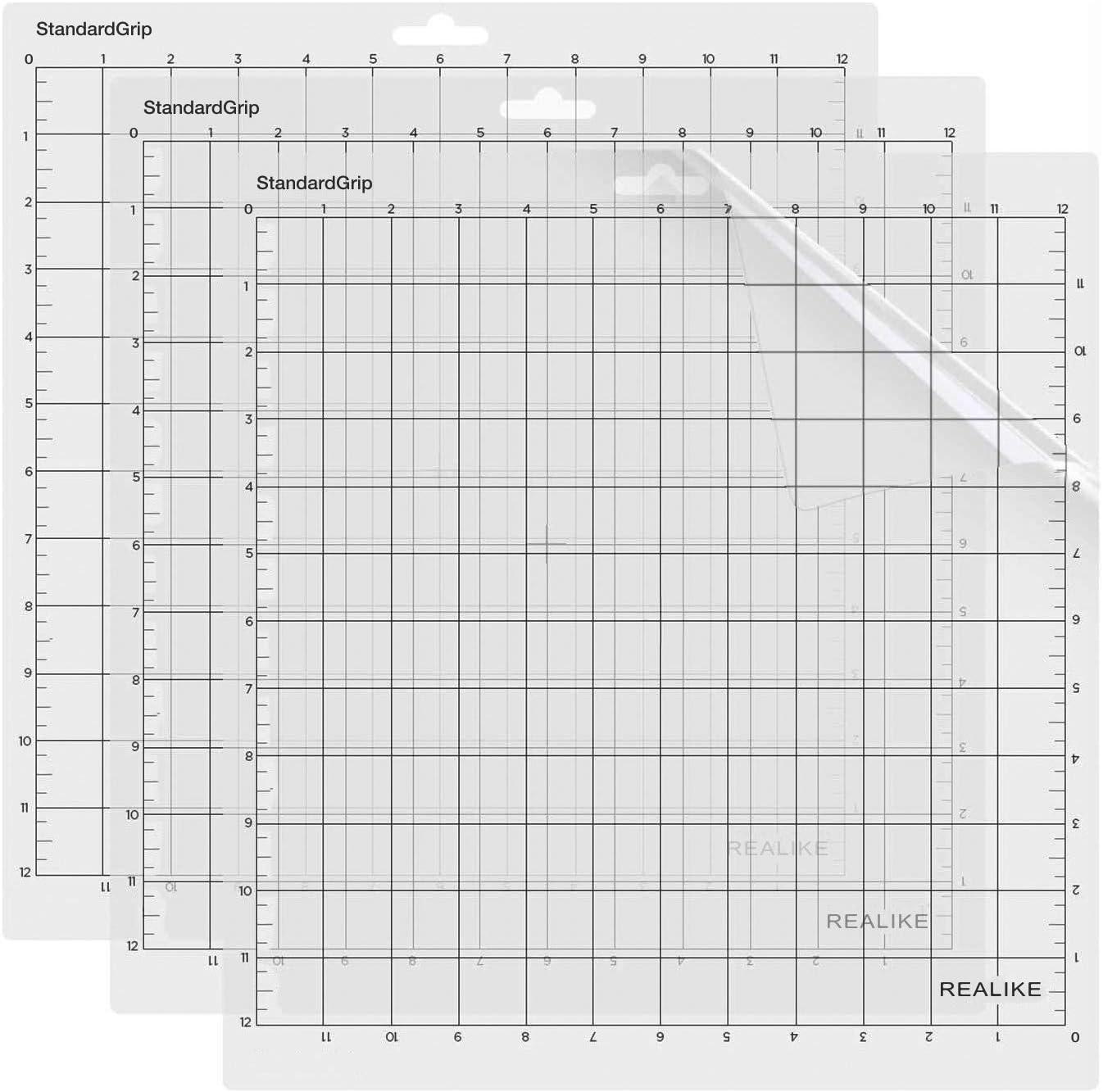StandardGrip Cutting Mat for Cricut Explore One//Air//Air 2//Maker 3Mats for Crafts