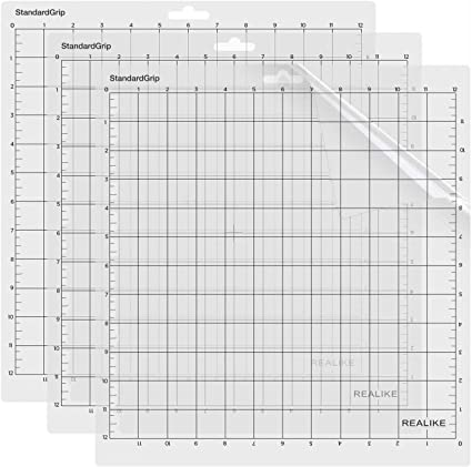 Cricut Explore One//Air//Air 2//Maker Standard Adhesive Sticky Non-Slip Durable Mat for Arts /& Crafts Projects WORKLION Cutting Mat 12x12 StandardGrip for Cricut 3 Pack White Cutting mat
