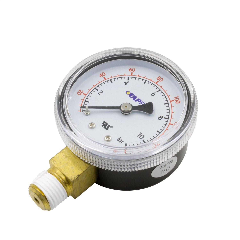 Auto Meter AutoMeter GLP Dedenbear Gauge Low Pressure for Co2 Regulator (0 to 160 Psi)