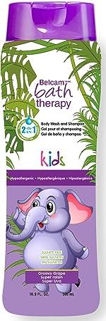 Kids 2-in-1 Body Wash and Shampoo, Groovy Grape, 16.9 Fl Oz