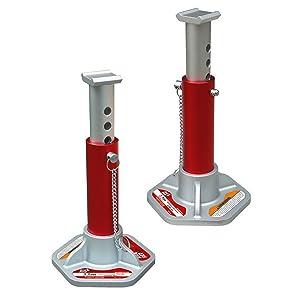 2. Torin Big Red Aluminum Jack Stands