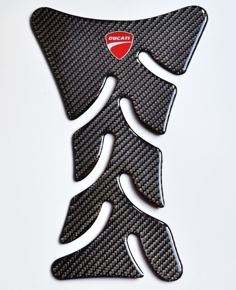 Ducati 848 1098 1198 Monster Carbon Fiber Motorcycle Tank Protector Pad (Let us know if you need to add logo on it)