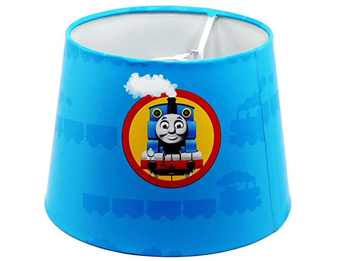 Thomas the tank engine lampshade or ceiling light shade dual purpose thomas the tank engine lampshade or ceiling light shade dual purpose 95quot boys childrens kids aloadofball Gallery