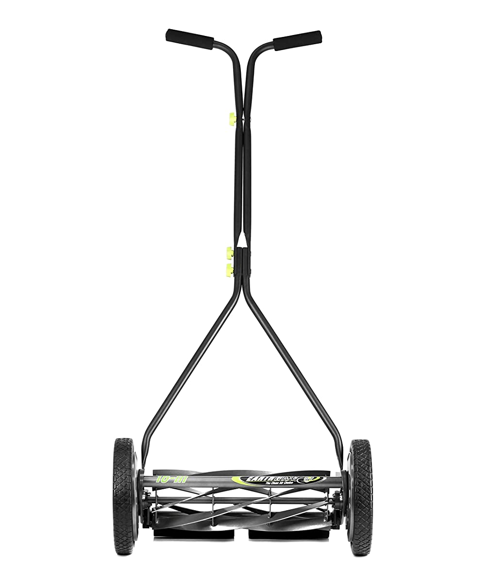 Earthwise 1715-16EW 16 Inch Wide, 7 Blade Push Reel Mower Bent Grass