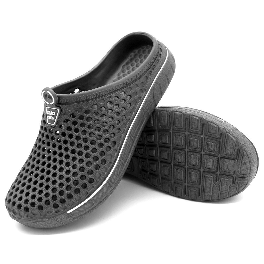 IVAO Unisex Garden Clog Shoes Sandal Quick Drying Gray 13 B(M) US Women / 11 D(M) US Men by IVAO (Image #6)