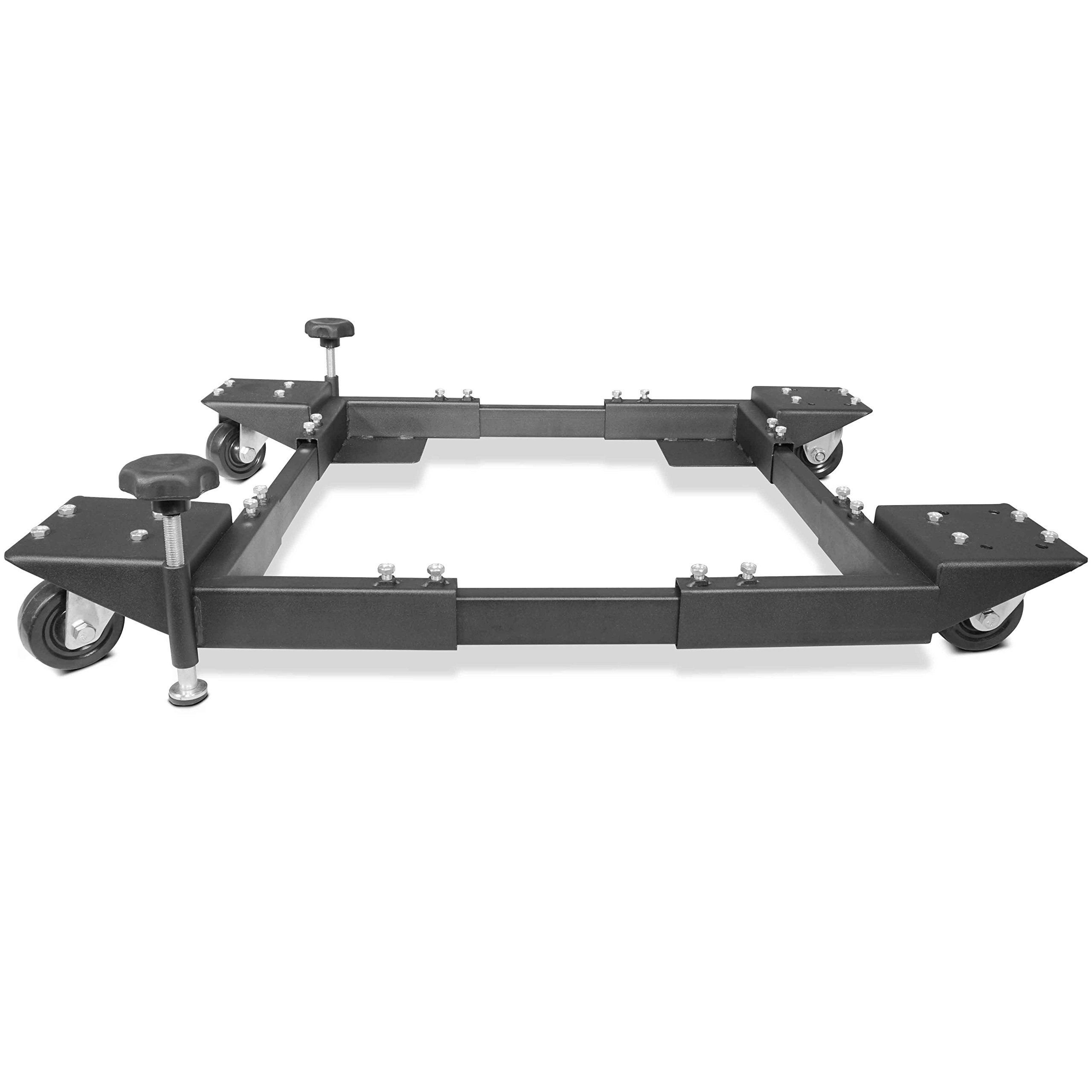 Titan Adjustable Mobile Base Dolly 600 lb Capacity HD Universal Power Tools - Make Your Workshop Portable & Easy To Use by Titan Attachments (Image #3)