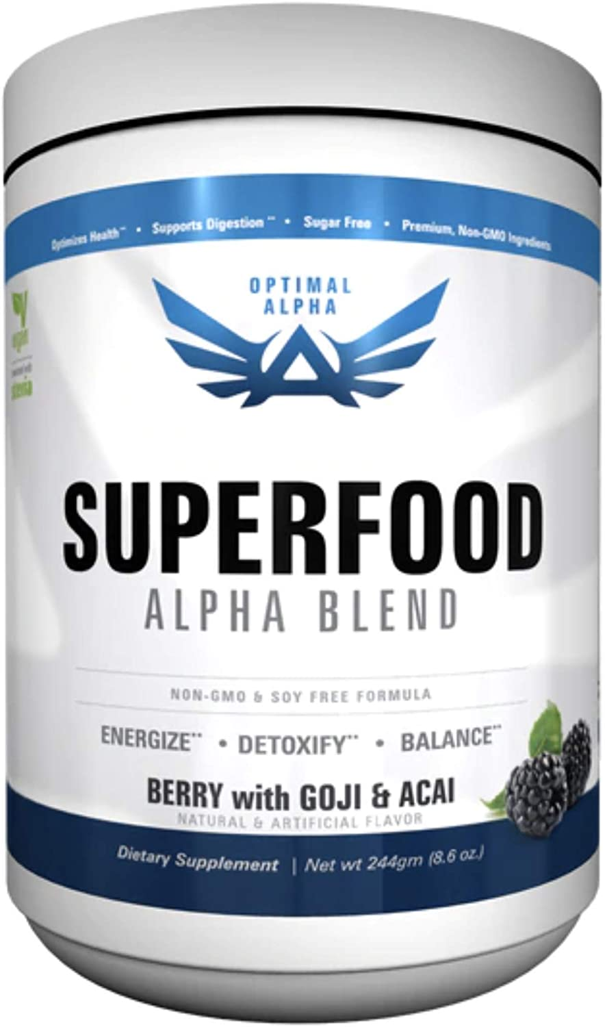 IMSOALPHA | SUPERFOOD | Made From Organic Superfoods | Sweetened With Stevia & Non-GMO | 30 Servings
