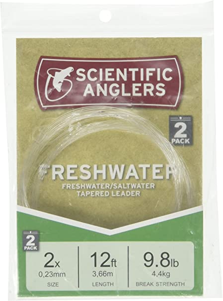 All Sizes Scientific Anglers Premium Saltwater Tapered Fly Fishing Leaders