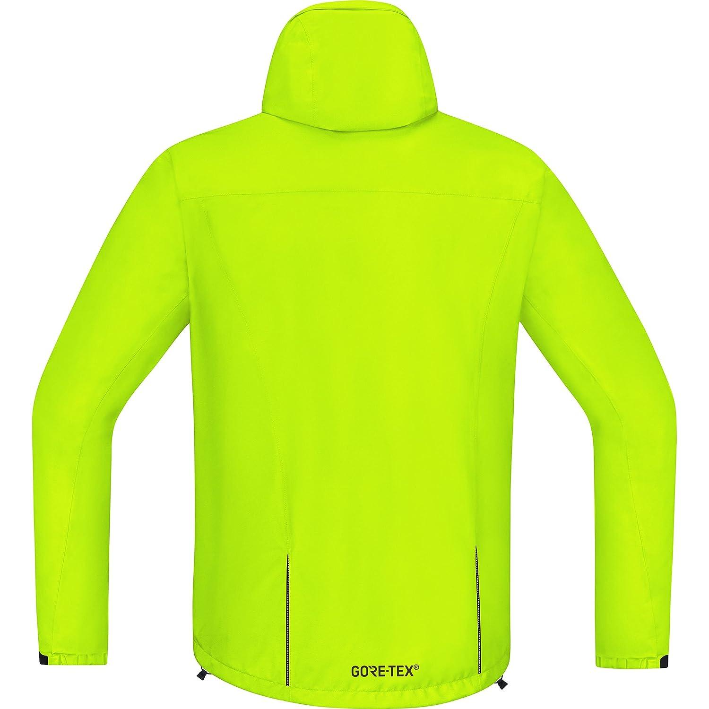 Amazon.com : GORE BIKE WEAR Mens Cycling Rain Jacket, Light, GORE-TEX, Paclite Jacket, Size: XL, Neon Yellow, JGELMP : Sports & Outdoors