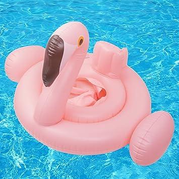 SPECOOL Flotador de la Piscina del bebé, flamencos Balsas inflables Anillo de natación Juguetes de la Piscina para niños (flamencos): Amazon.es: Juguetes y ...