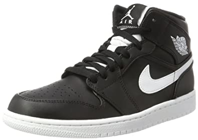 Herren Schuhe sneakers Air Jordan 1 Mid 554724 049 | SCHWARZ