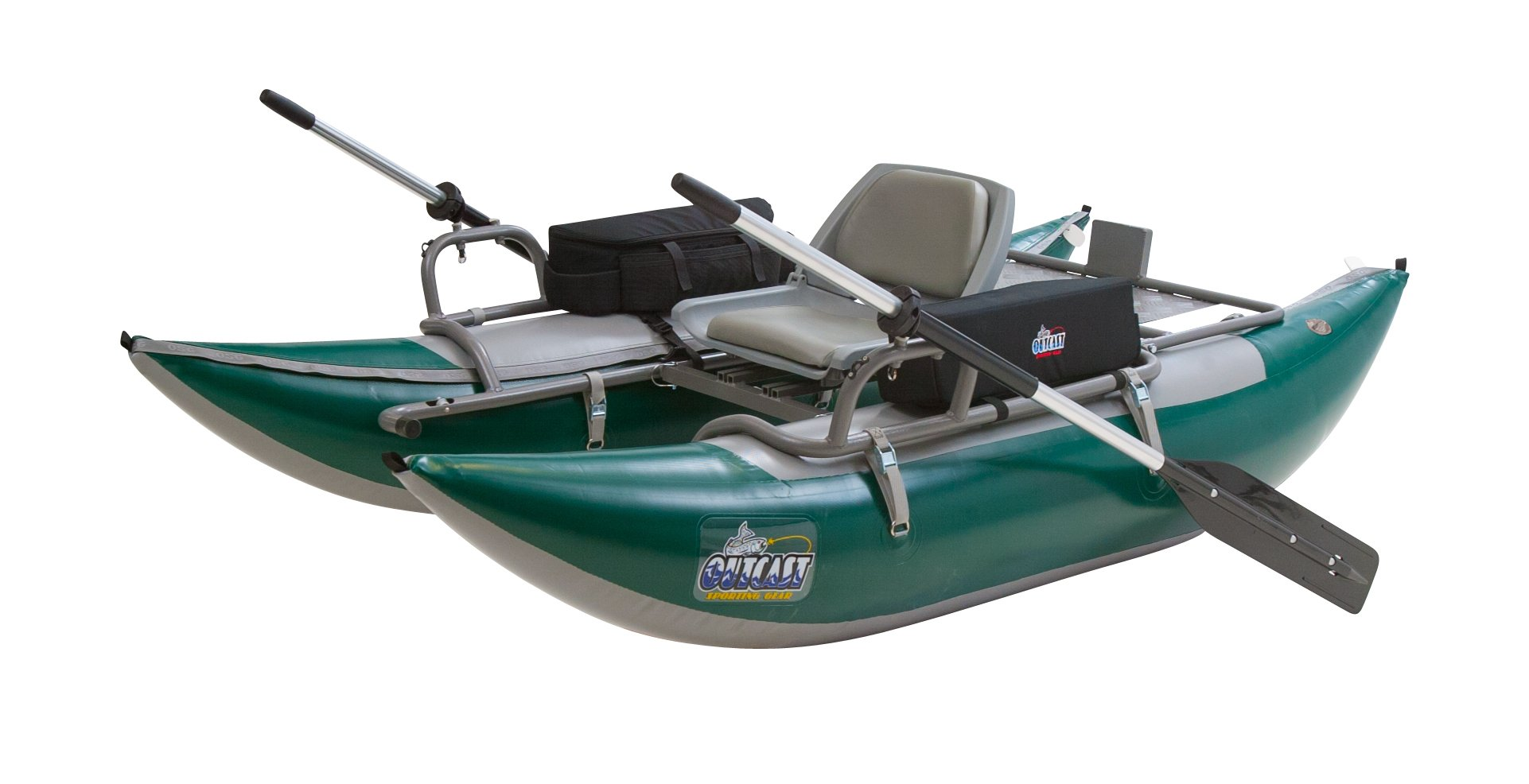 Outcast PAC 1000 Pontoon Boat - with in the lower 48 US States and $100 Gift Card by Outcast