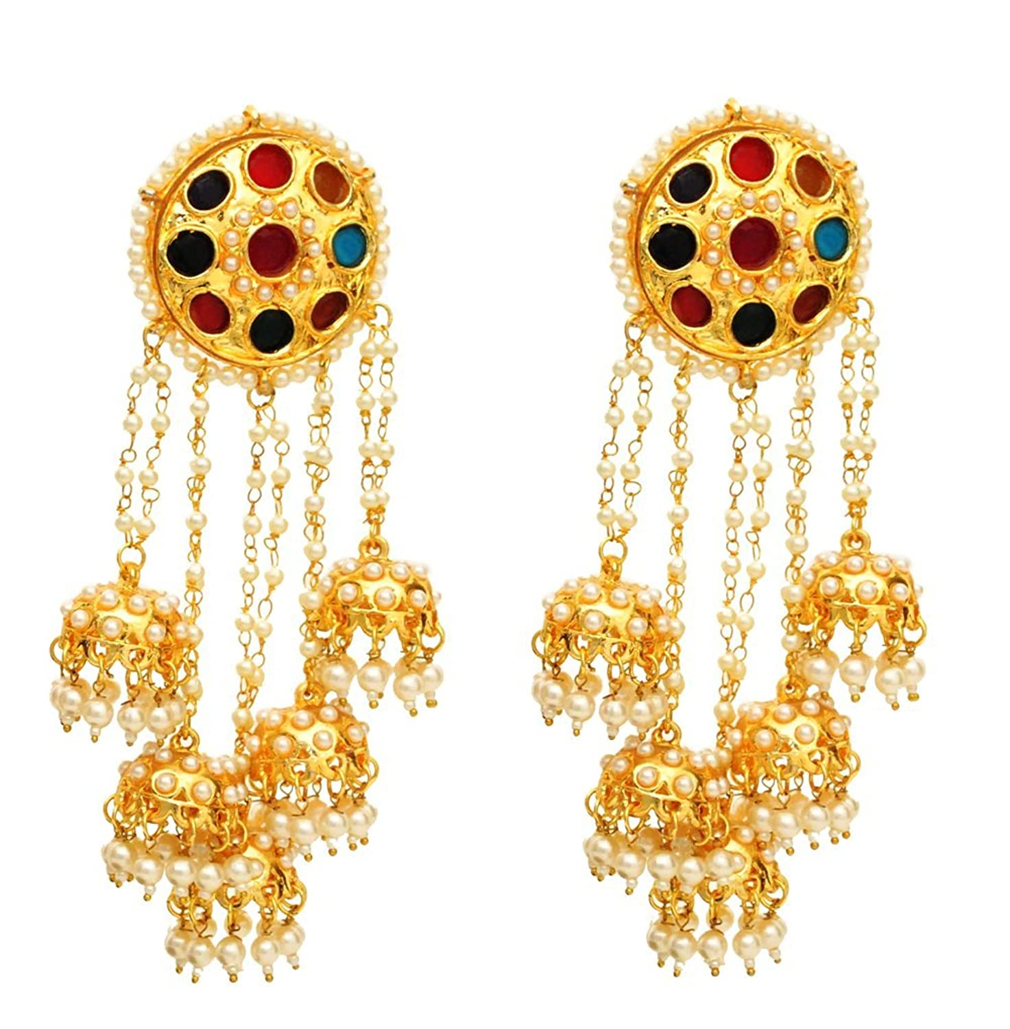 buy the bajirao mastani earrings online at low prices in india