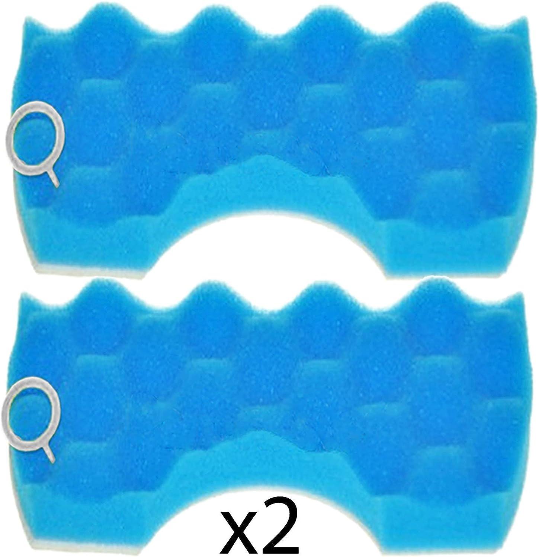 Spares2go Microfiltro in spugna a doppio strato per aspirapolvere Samsung 1 confezione