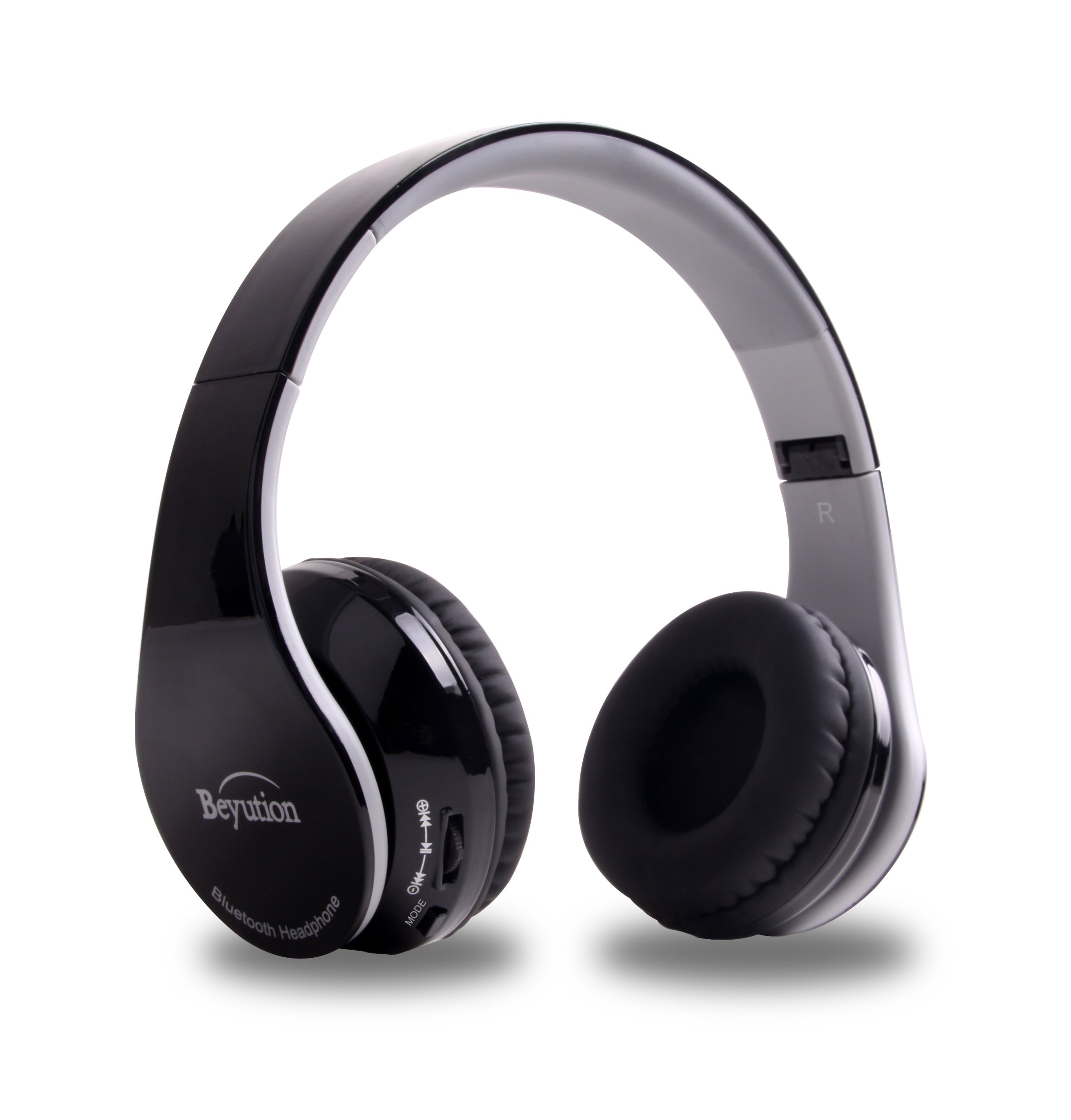 837892fd714 Details about Wireless Bluetooth 4.1 Stereo Headphones With Mic Audifonos  Inalambricos Black