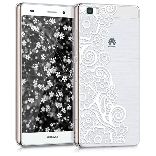 215 opinioni per kwmobile Cover per Huawei P8 Lite (2015)- Custodia in silicone TPU- Back case