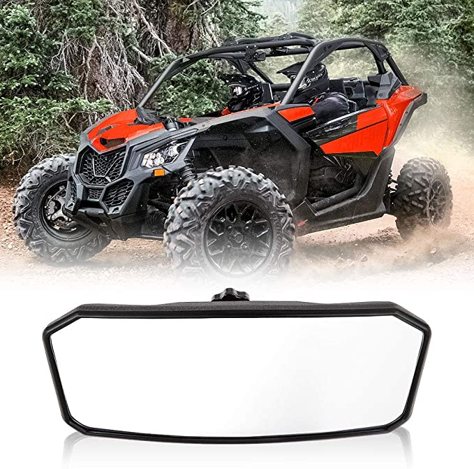 Maverick Rear View Mirror,A/&UTV PRO Panoramic Rearview Mirror,Convex Center Fits Can Am Maverick X3 XRS XDS Max Turbo R RR 2017-2021 Accessories