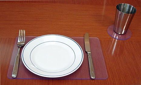 Stop Gliss Dessous De Verre Ou Set De Table Transparent