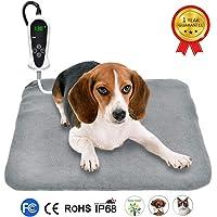 RIOGOO Pet Heating Pad, Upgraded Electric Dog Cat Heating Pad Indoor Waterproof, Auto Power…