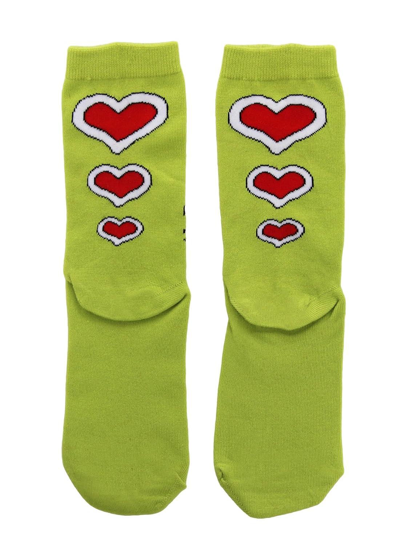 Amazon.com: elope Dr. Seuss Grinch Christmas Costume Crew Socks: Clothing