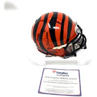 $129 » JaMarr Chase Cincinnati Bengals Signed Autograph Speed Mini Helmet Fanatics Authentic Certified