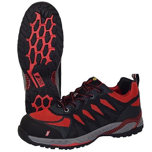 Zapatos De Trabajo Nitras 7410 ESD S1P SRC | Zapatos De Seguridad Deportivos con Puntera |