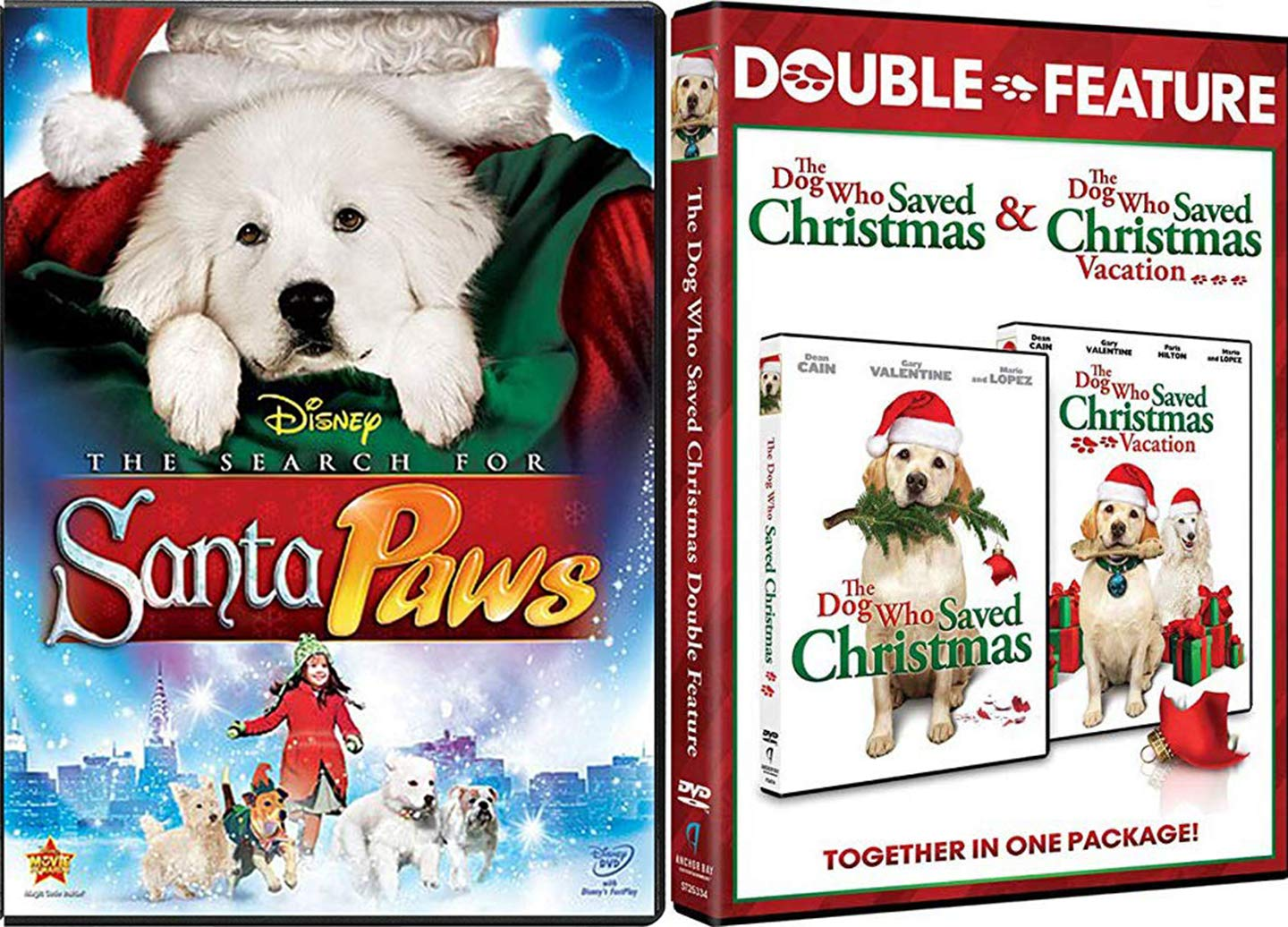 Amazon Com From North Pole Christmas Dogs Dvd Santa Paws