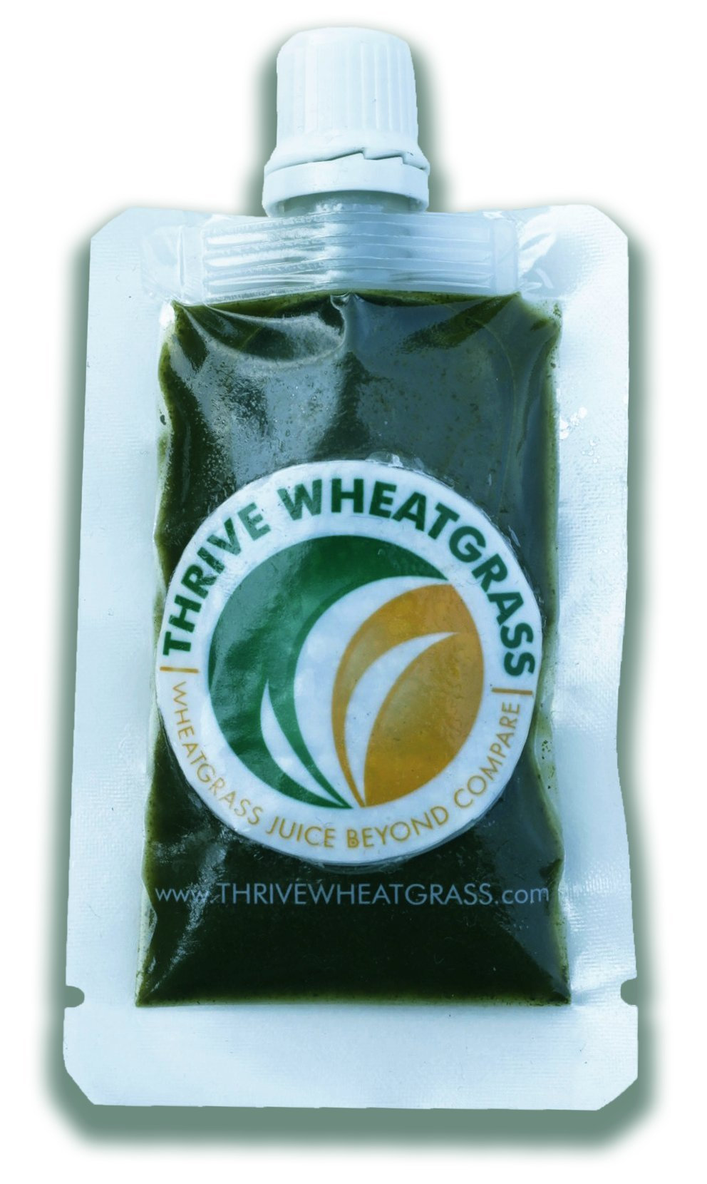 Thrive Wheatgrass Juice - 100 x 1oz Packets (100 Fl Ozs Total) - Only $1.89 Per Packet! - Field Grown - Flash Frozen - Raw and Unpasteurized - 100% Wheatgrass Juice, Not Powder! FREE 24 HOUR SHIPPING!
