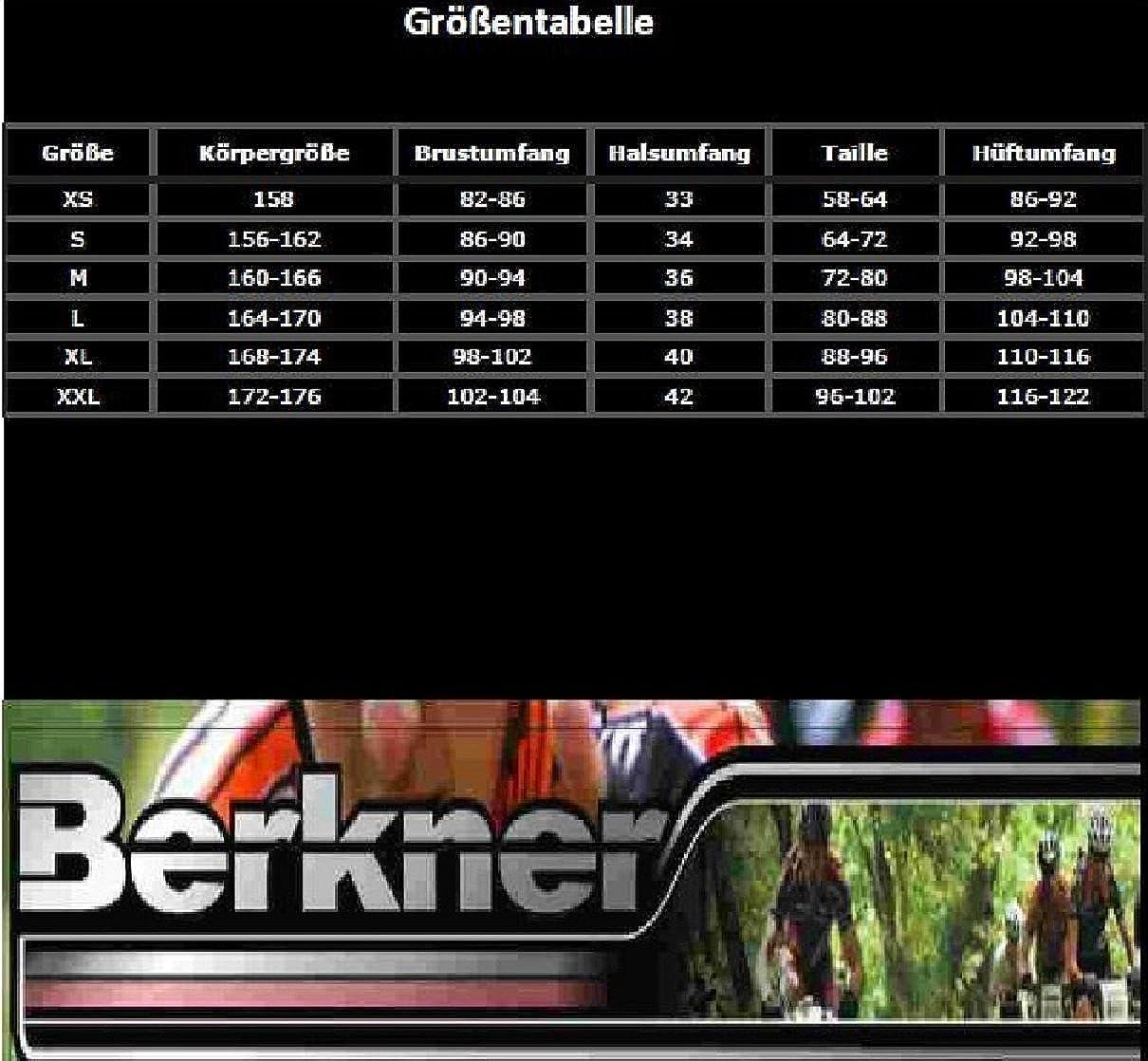 sous-v/êtement Multisports Berkner sous-v/êtement de Sport pour Femme Noir /& Blanc *