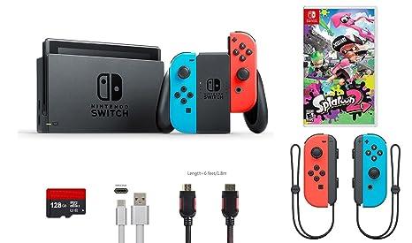 Amazon.com: Nintendo Switch Bundle (6 artículos): 32 GB ...