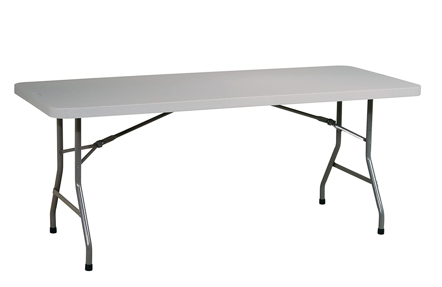 de716ca551b Amazon.com  Office Star Resin Multipurpose Rectangle Table
