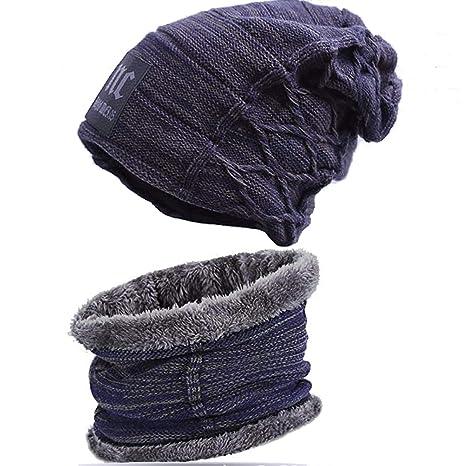 Bestele Caldo Cappello e Sciarpa Set per Uomo Donna 26c7da4da90e