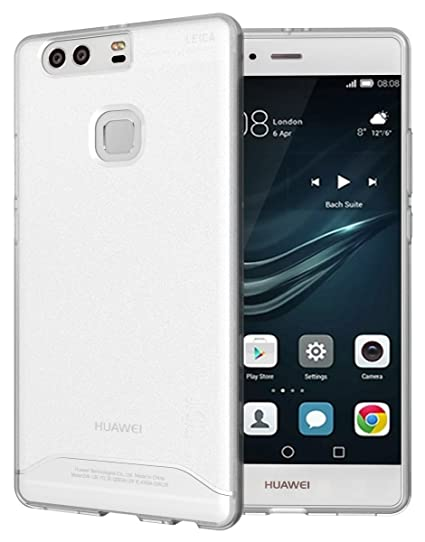 newest collection da366 4930a Huawei P9 Plus Case, TUDIA Full-Matte ARCH TPU Bumper Protective Case for  Huawei P9 Plus (Frosted Clear)