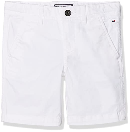 025929793a Tommy Hilfiger Boy's AME New Chino Short Ostw Pd Short, White (Bright 123),  128: Amazon.co.uk: Clothing