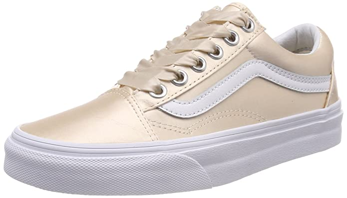 Vans Old Skool Schuhe Damen Pink (Satin Lux)