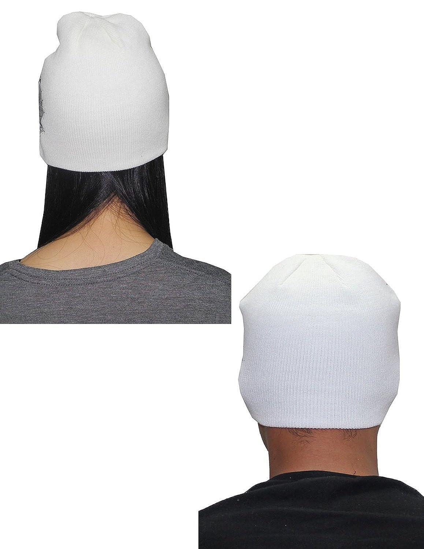Hurley Unisex Double-Layer Ski & Skate Knit Visor Beanie / Winter Hat