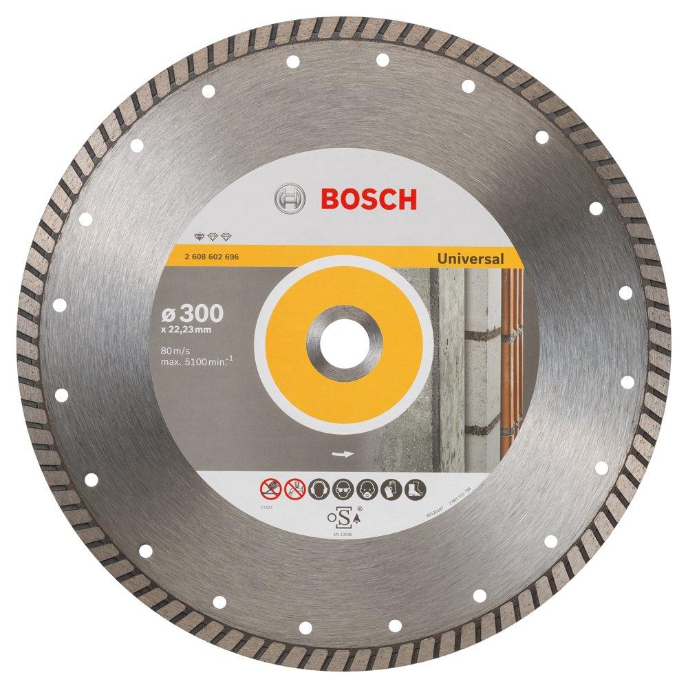 2608602696 BOSCH 300MM X 22.23MM DIAMOND DISC UNIVERSAL TURBO