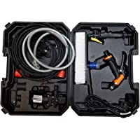 Car Washer Pressure Pump, Portable Intelligent Electric 200W 160 PSI 12V, High Pressure Powerful Washing Kit with 21.3…