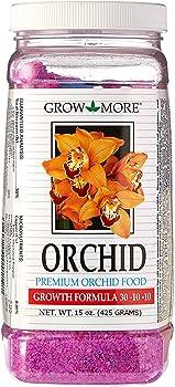 Grow More 5119 30-10-10 Orchid Fertilizer