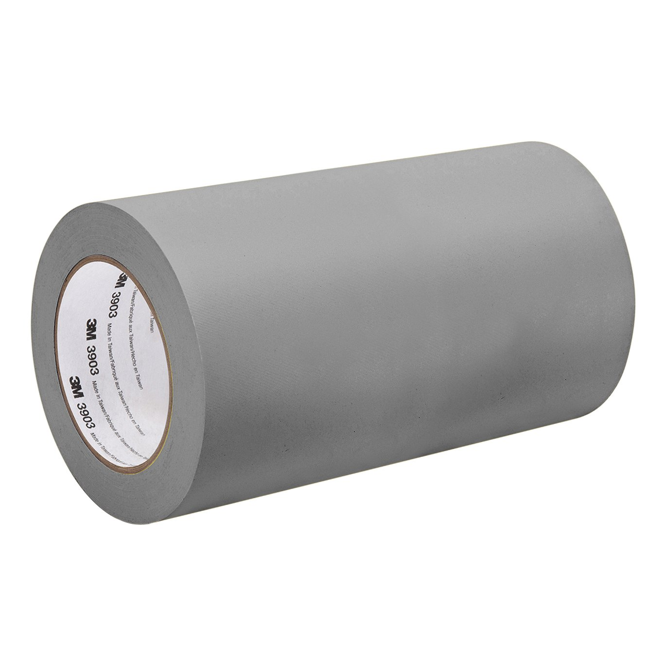 50 yd 3M 3903 17.5IN X 50YD GRAY Grey Vinyl//Rubber Adhesive Duct Tape 3903 12.6 psi Tensile Strength length 17.5 width