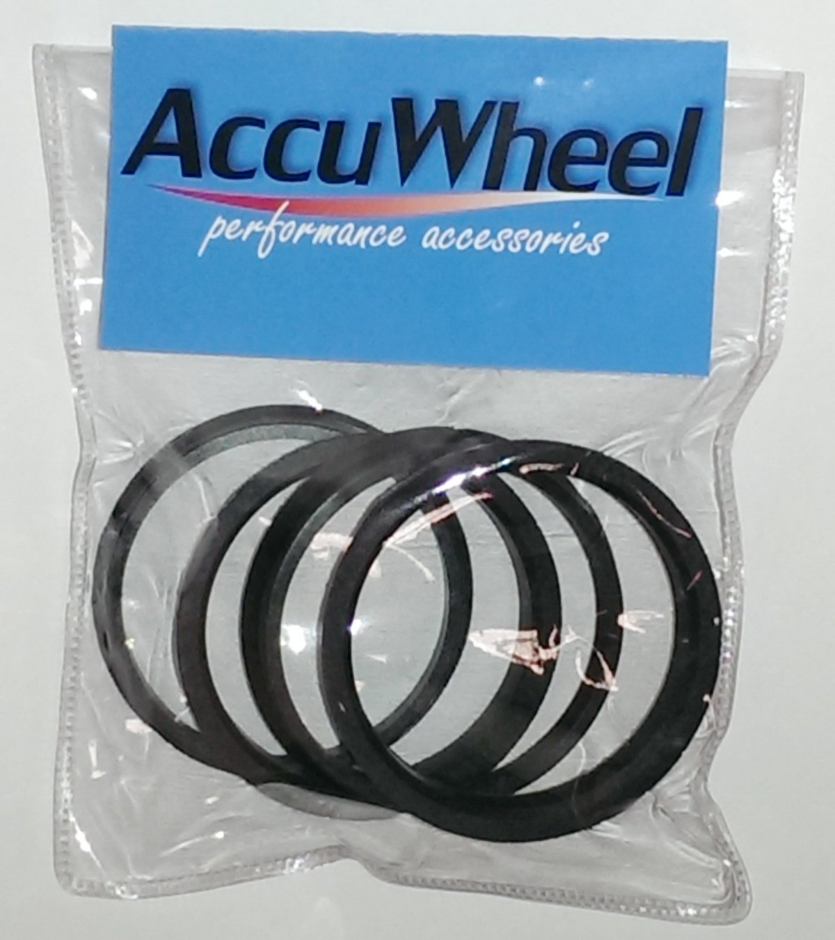 Pack of 4 pcs 74.10mm OD to 72.60mm ID AccuWheel ACHR74-7260 Wheel Hub Centric Rings