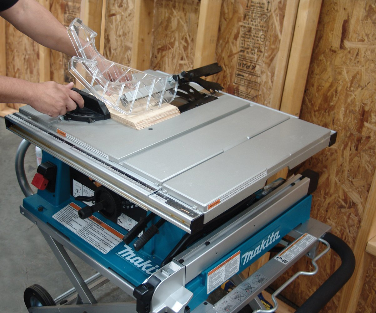 Makita 2705X1 10-Inch Contractor Table Saw with Stand - Power Table Saws -  Amazon.com