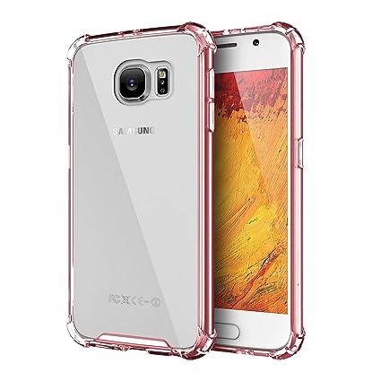 Amazon.com: MAYtobe Galaxy S6 - Carcasa blanda de TPU para ...
