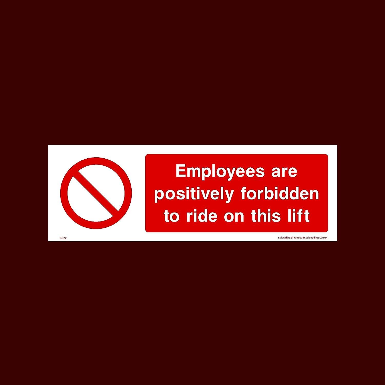 USSP&S Los empleados positivamente Prohibido To Ride en Este ...