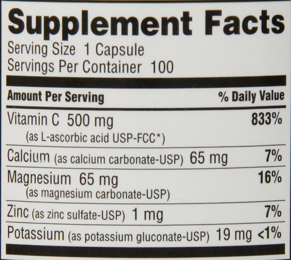 Amazon.com: nutribiotic buffered vitamina C, 500 mg, 100 ...