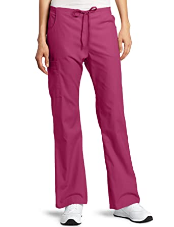 5ff52bee032 Amazon.com: Dickies Scrubs Women's Back Elastic Cargo Pant: Medical Scrubs  Pants: Clothing
