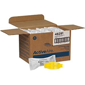 ActiveAire Passive Whole-Room Freshener Dispenser Refill by GP PRO (Georgia-Pacific), Sunscape, 48291, 12 Cartridges Per Case