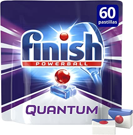 Finish Quantum Regular Pastillas para Lavavajillas - 60 pastillas ...