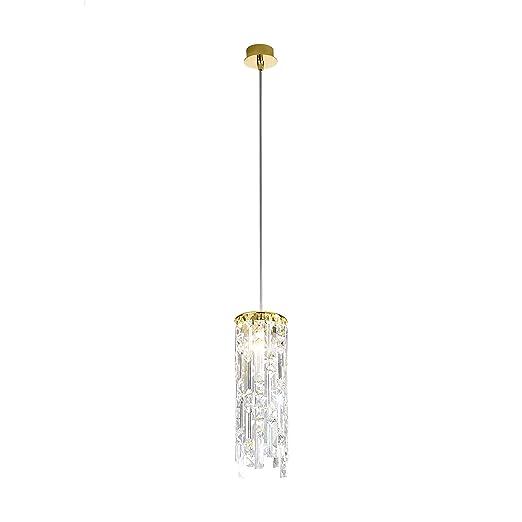 Lámpara colgante de cristal de techo (1 Prisma Dragon ...