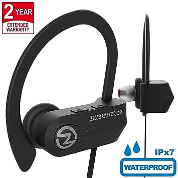 ZEUS - Auriculares inalámbricos Bluetooth mejorados 2018 – los mejores auriculares inalámbricos con cancelación de ruido